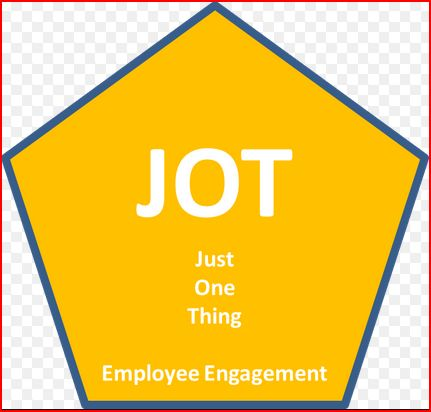 Just One Thing (Employee Engagement)