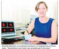 Danielle Bassett (UPenn; Inquirer; 7-Apr-15)